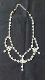 Lovely Diamante necklace by John lewis, £1.50