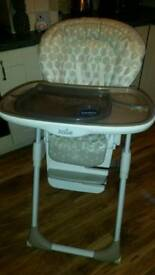 Joie Mimzy LX high chair - excellent condition