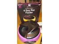 4 day auto pet feeder