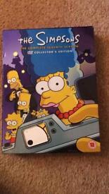 Simpsons series/season 7 DVD box set - collectors edition