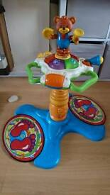 Vtech dancing stand up tower