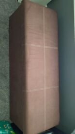 Large brown storage box