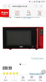 Red delonghi microwave
