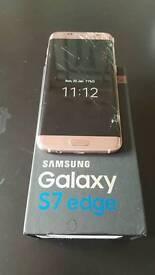 Samsung s7 edge rose gold