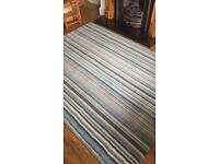 Next Rug. Blue stripes 170 x 230cm