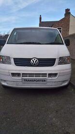 Vw t5 , 2004, 139k ,lwb, white, £4350ono