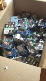 FOOTBALL STARZ FIGURES STILL UNOPENED AROUND 80