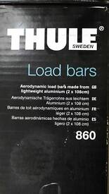 Thule 860 Load bars - never used
