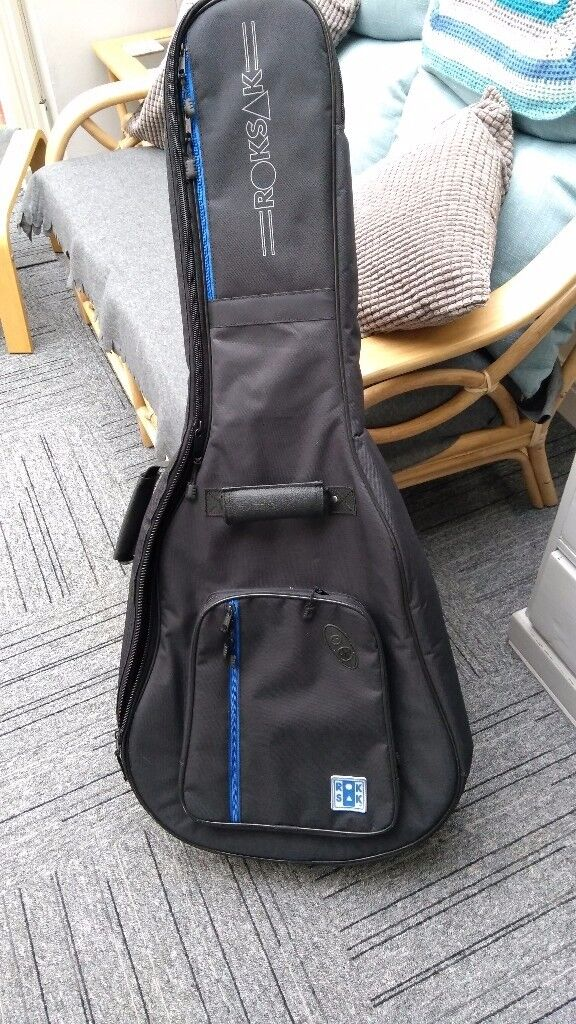 Roksak guitar case for a 12 string guitar