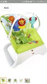 Fisher Price Rainforest New born baby bouncer
