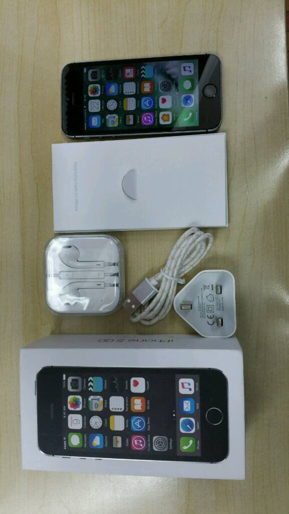 IPHONE 5S 16GB UNLOCK ANY NETWORKin Longsight, ManchesterGumtree - Iphone 5S 16gb unlock any network come with box and all accessories condition is you can see in picturesNo offers place