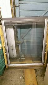 Velux opening double glazed window