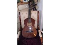 Vintage Hokada Classical Acoustic Guitar