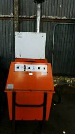 Portable Heater Unit with portable bowser needs servicing