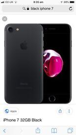 Black I phone 7