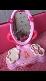 Barbie dressing table mirror