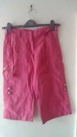 Girl's Crop Trousers