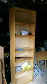 Pine Shelving unit 5 shelves