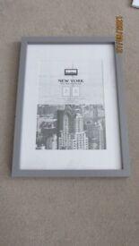 10 (Ten) Picture Frames size: A4/A3 (B&M - Grey)