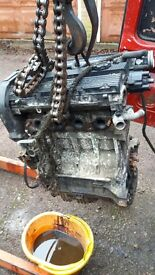 Rover engine 214 16v 1.4cc engine stripping for parts i got this as a good runner 3yrs ago.