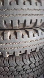 Mud tyres 16 inch