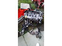 Vauxhal astra 1.7 cdti engine with turbo and alternator