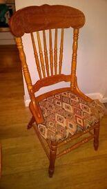 4 farmhouse dining chairs