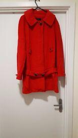ZARA red women coat