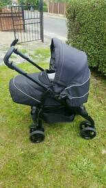 Silvercross special edition pushchair from new born with rain cover