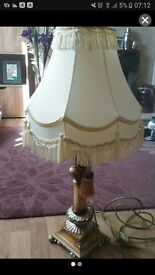 Shabby chic french style lamp