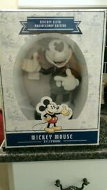 75th Anniversary Mickey Mouse Telephone - Limited Edition, Brand New & Rare!