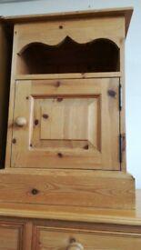 Solid Pine 1 Door Bedside