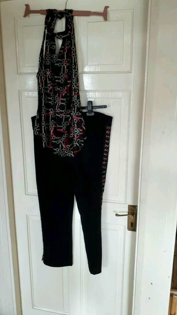 Karen Millen Trousers and Top