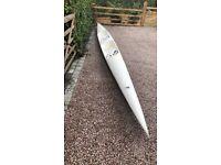 Racing Surf Ski, sea kayak double, FENN Kayaks, available straight away for collection