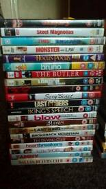 42 mixed dvds