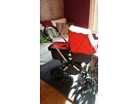 Bugaboo Cameleon with car seat