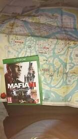 Mafia 3 xbox one excellent condition (case and disc) with dlc and original large fold out map
