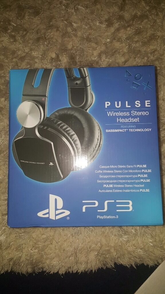 Playstation pulse headset read info