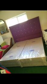 Kingsize and super King head boards order any colour