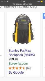 Stanley fatmax backpack/case on wheels