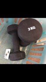 Pair of dumbbells