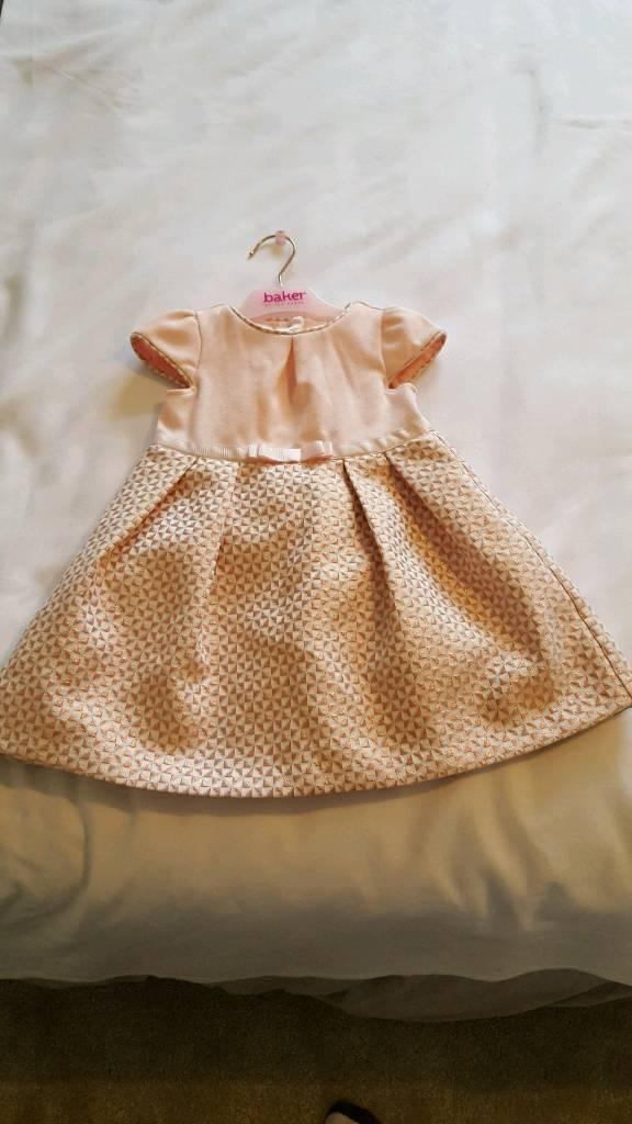 Ted baker baby girl dress 12-18 month