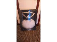 Ballet dancer canvas