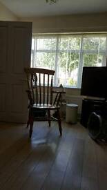 Beautiful farmhouse good solid wood chair