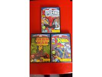 3x marvel dvds