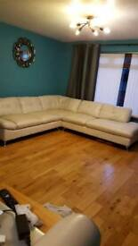 cream corner sofa for sale