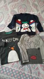 Christmas tops boys