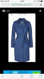 Topshop religion coat