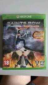 Brand New Sealed XBOX ONE Game Saint Row SR IV RE ELECTED + GAT OUT OF HELL + All DLC
