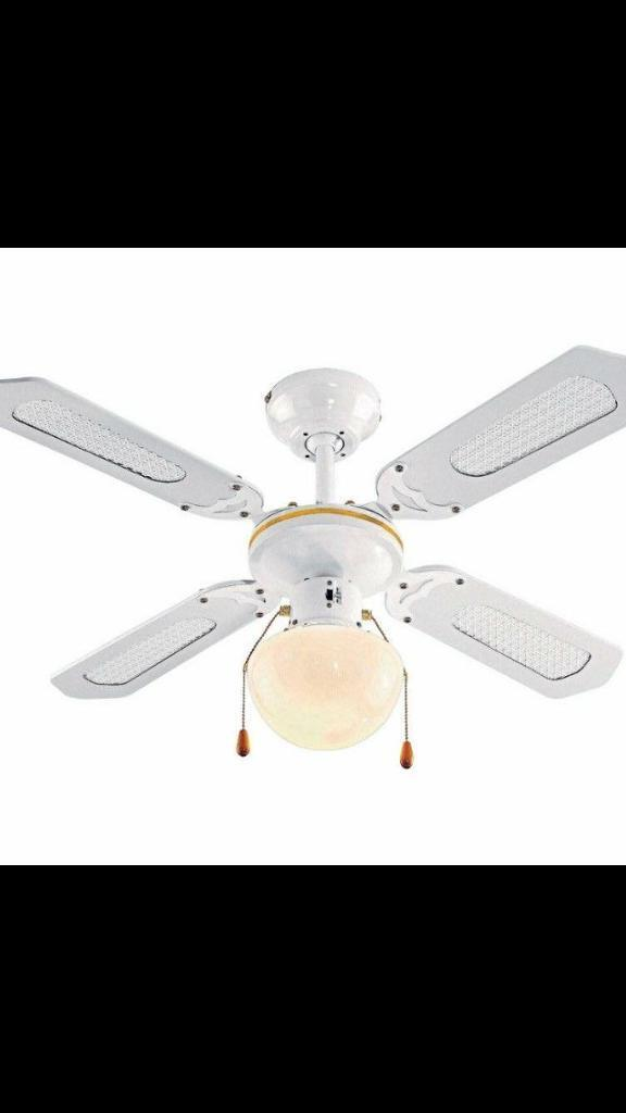 Ceiling Fan And Light Brand New
